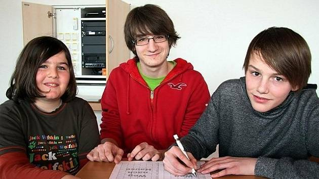 Na snímku jsou zleva Elias, Simon a Martin.