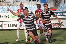 Fotbalisté  Dynama České Budějovice přivítali na Střeleckém ostrově tým FK Viktoria Žižkov.