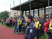 Okresní soutěž v požárním sportu dospělých se uskutečnila 30. května 2010 v Č. Budějovicích v areálu SKP.