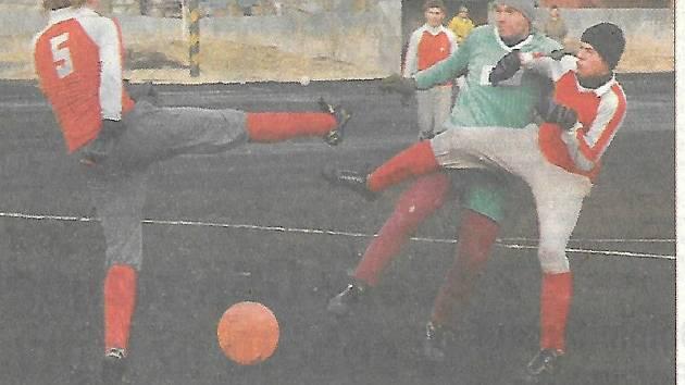 Na staré Lokádě se v rámci zimního turnaje odehrávaly výborné zápasy.