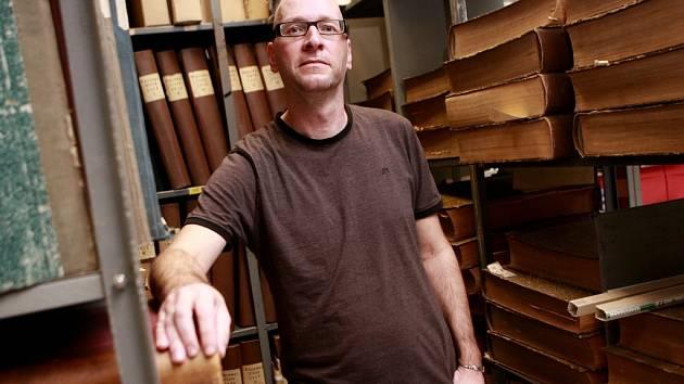 Ivo Kareš, jenž dělal 15 let náměstka ředitelky Jihočeské vědecké knihovny, zaujme od 1. listopadu její místo. Sní o nové budově knihovny.