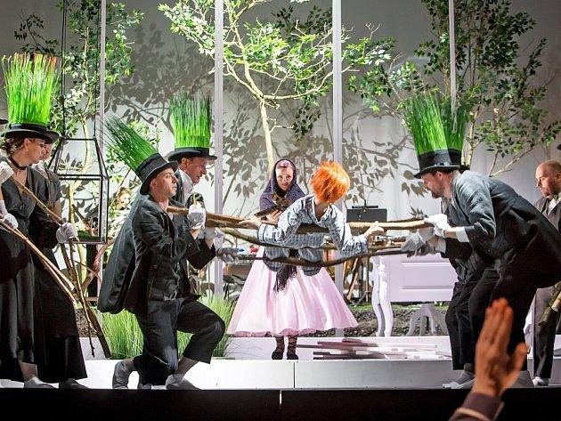 Jihočeské divadlo uvede hru Dítě a kouzla. Foto zgenerální zkoušky.