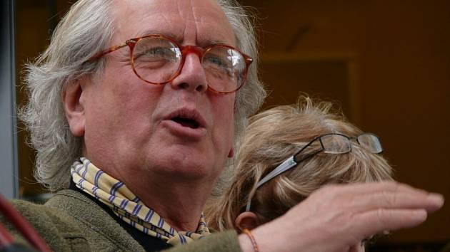 Petr Porcal, historik umění (1944 - 2014).