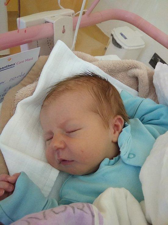 Šimon Vodička, Stráž nad Nežárkou.Narodil se 6. dubna mamince Lence Vodičkovéa tatínkovi Milanu Vodičkovi. Vážil 3840 gramů a měřil 49 cm.