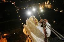 Jedním z vrcholů budějovického adventu bude 5. prosince přílet anděla.
