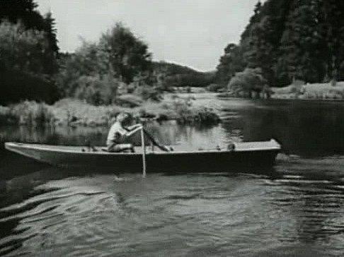 Vjižních Čechách se natáčel film Dobrodružství na Zlaté zátoce.