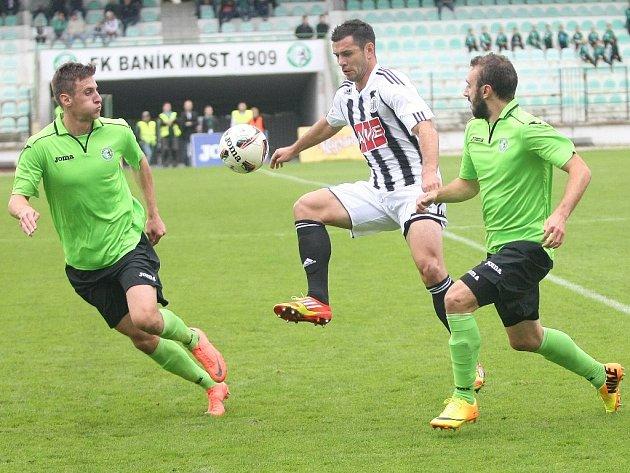 Martin Vyskočil v Mostě gól nedal, trefí se doma proti Frýdku-Místku?