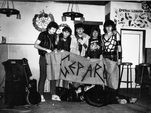 Metalová skupina Gepard ohlásila comeback. První 'návratový' koncert bude mít 16.května vDubném na Českobudějovicku. Archivní snímek je z80. let.