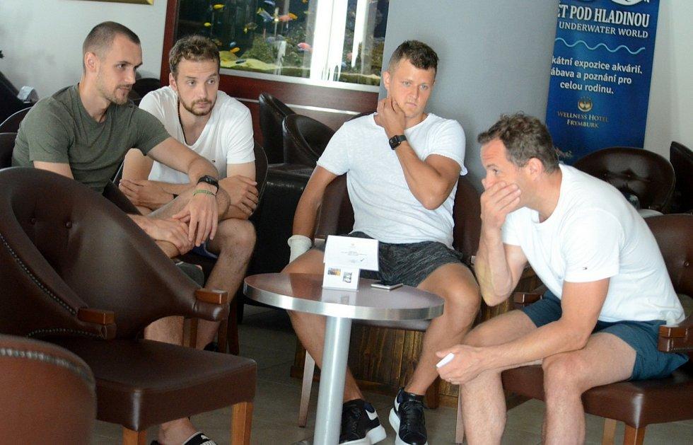 Hokejisté Motoru jsou na soustředění ve Frymburku