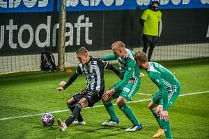 Karol Mészáros v zápase Dynama s Bohemkou (2:1) měl prsty v obou gólech vítězů..
