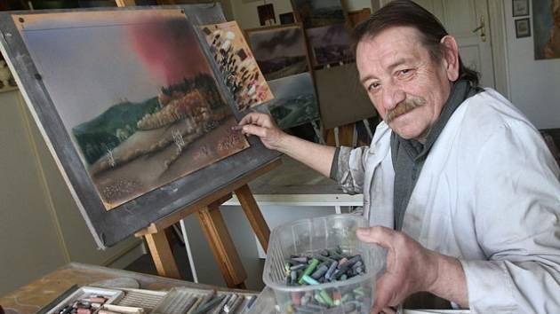 Malíř Pavel Kalista.