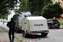 Policie uzavřela v Českých Budějovicích ulici L.M. Pařízka.
