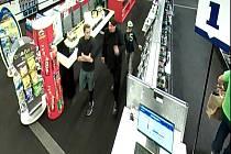 Policisté hledají svědky případu krádeže elektrického výrobku.