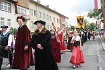 Hornické slavnosti v Rudolfově.