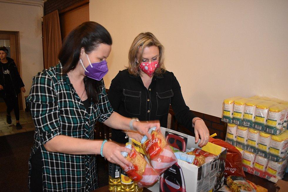 Dětem z azylového domova v Boršově nad Vltavou na Českobudějovicku pomohla sbírka Iniciativy Pivoňka.