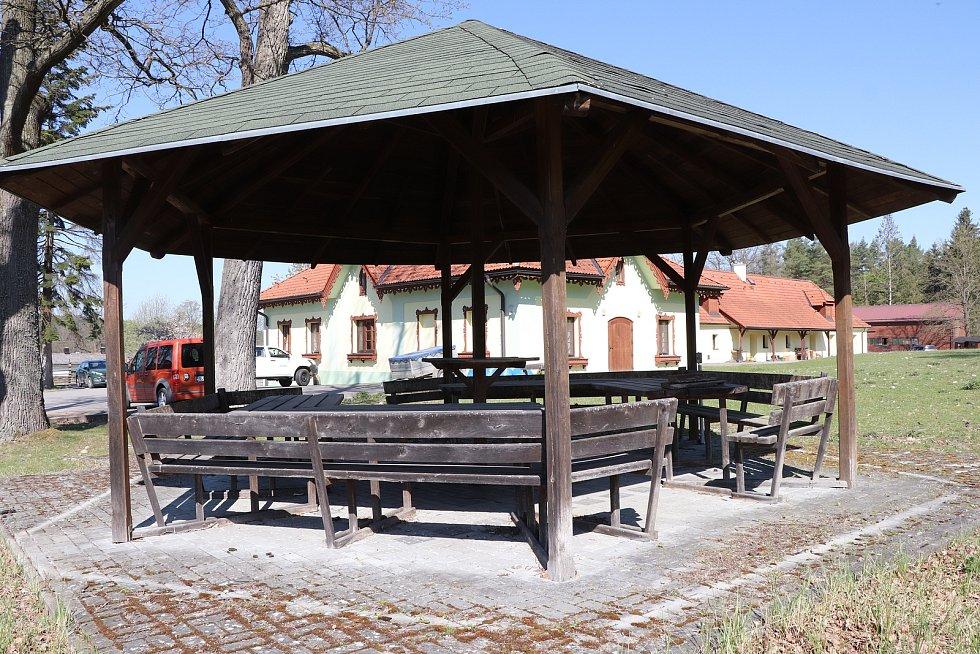 Stará obora v Hluboké nad Vltavou
