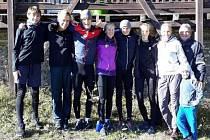 Výškaři nabírali sílu na sezónu.