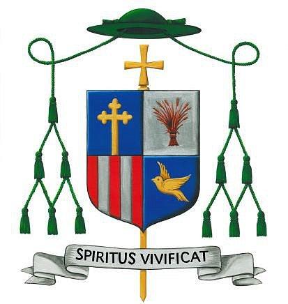 Znak nového biskupa Lince.