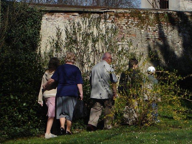 Biskupská zahrada v ČB