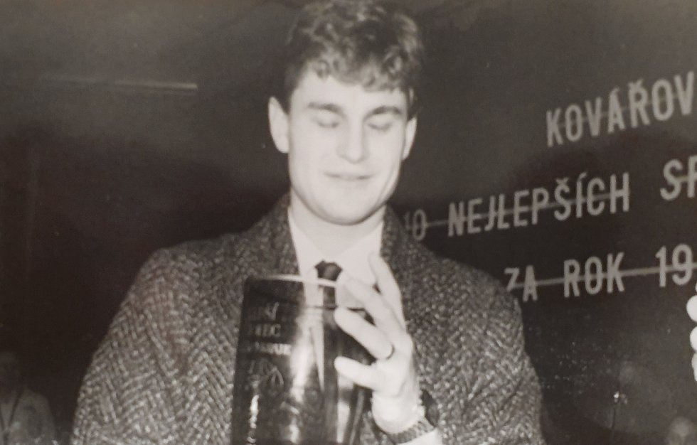 Jak šel čas v anketě Sportovec regionu. Hokejový brankář Petr Bříza.