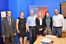 Své zastoupení v soutěži měla i Ekonomická fakulta Jihočeské univerzity v Českých Budějovicích.