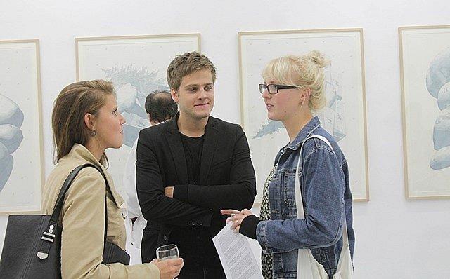 Výstava v českobudějovickém Domě umění, který představuje 'průzkumné' dílo Františka Lesáka