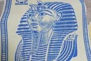 Osušku s faraonem zlodějka vrátila, když byly zveřejněny její fotky.
