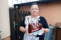 Marta Vařilová sbírala body a vyhrála plechovky piva.