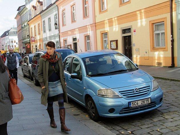 Kanovnická ulice v Českých Budějovicích.