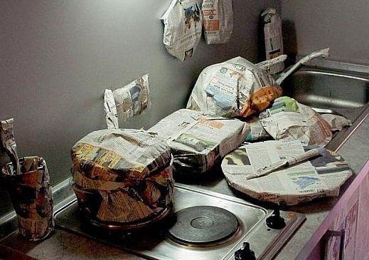 Baliči nezapomněli ani na kuchyňku.