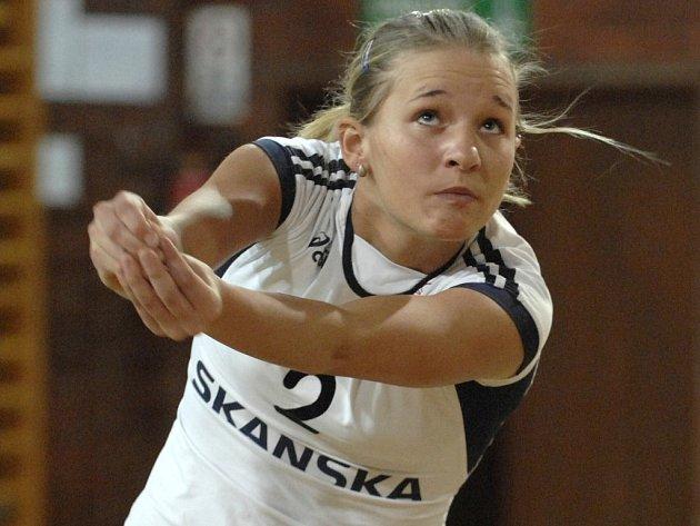 Česká volejbalová reprezentace odehrála první turnaj kvalifikace na mistrovství Evropy 2009 bravurně, byla u toho i Jihočeška Julie Jášová z pražské Slavie.