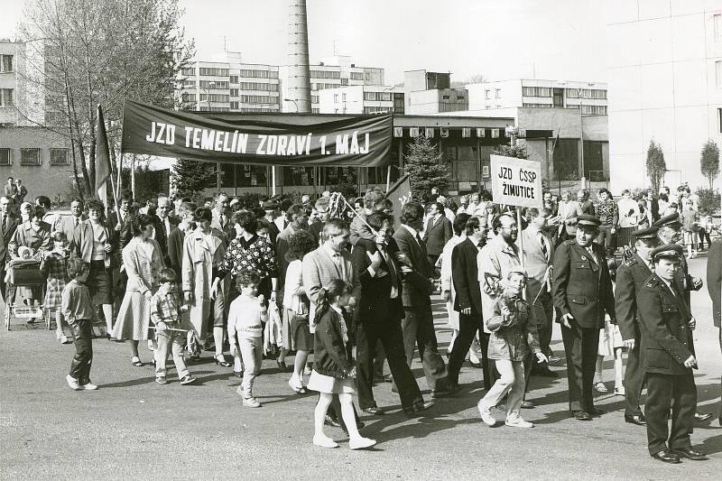 1. máj Týn nad Vltavou 1989