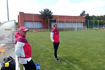 Sparta U19 - Dynamo ČB 4:1, trenér Sparty Erich Brabec