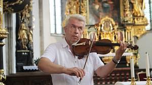 Jaroslav Svěcený v Nových Hradech