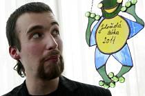Soutěž Jihočeská žabka hledá talenty, psát budou o naději. Uzávěrka přihlášek je na konci dubna. Na snímku jeden z vítězů v roce 2011, Adam Jenčo.