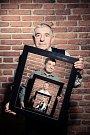 Čtyři generace Pepíků. Na fotce jsou se shora 83letý Josef Kučera, 57letý syn Josef, 35letý Josef, nejmladšímu Pepíčkovi jsou čtyři roky.