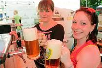 Slavnosti piva na českobudějovickém výstavišti. Ilustrační foto.