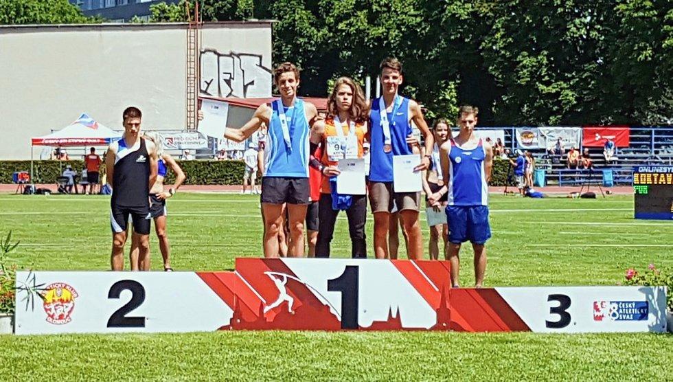 Úspěšní atleti Sokola České Budějovice závodili na mistrovství ČR v Olomouci.