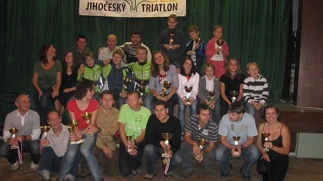 Nejlepším jihočeským triatlonovým klubem je TriSK ČB
