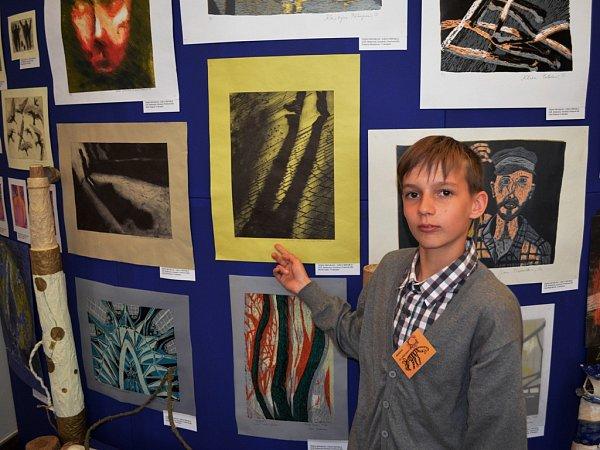 Se svojí grafikou uspěl na Mezinárodní dětské výtvarné vý- stavě Lidice 2015, kde se Michal Vojtík dostal mezi šedesát medailistů zcelkového počtu 21380prací.