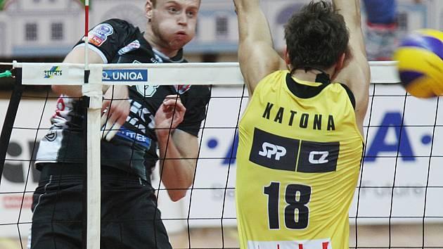 Michal Kriško útočí v extralize