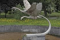Z knihy Panny a labutě