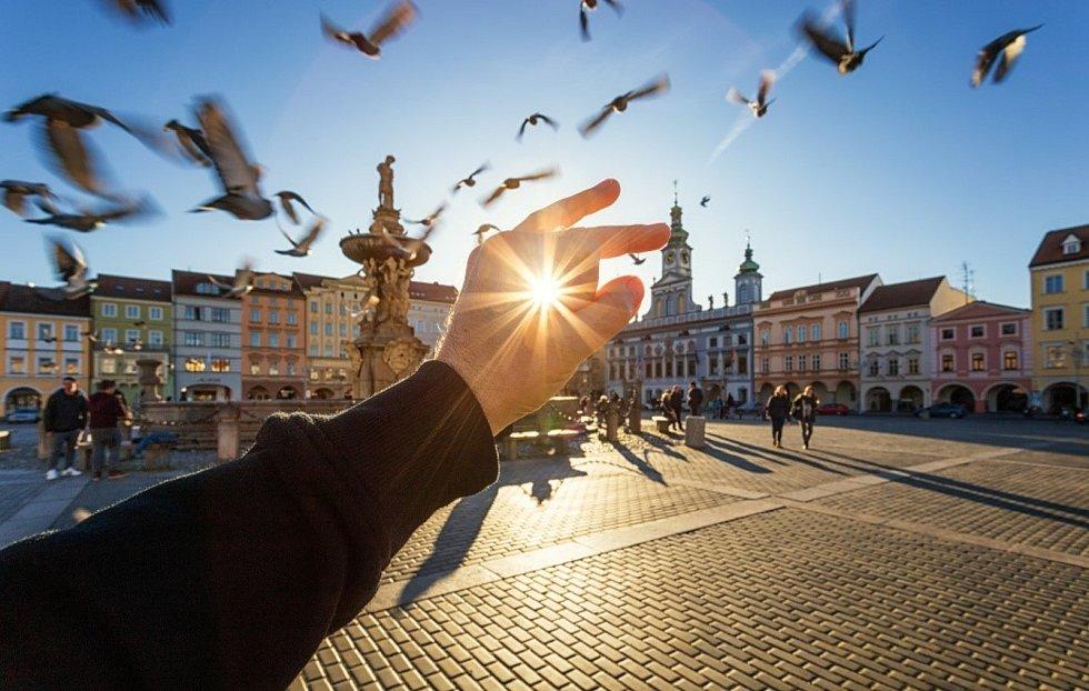 Jižní Čechy rozšíří svou propagaci na internetu novým projektem 6x5, který spoluorganizuje Jihočeská centrála cestovního ruchu (JCCR). Snímek ukazuje České Budějovice.