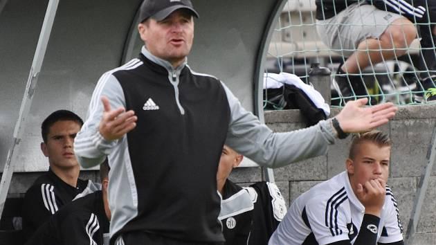 Trenér Pavol Švantner své svěřence po výhře nad Baníkem chválil.