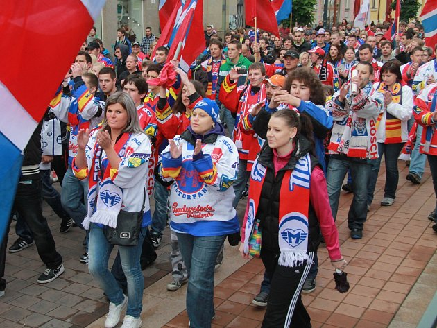 Fanoušci hokeje v Českých Budějovicích čekají, co bude dál.