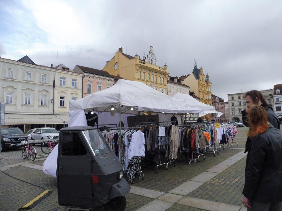 Na náměstí Přemysla Otakara II. v Českých Budějovicích navštívíte až do soboty italské trhy.