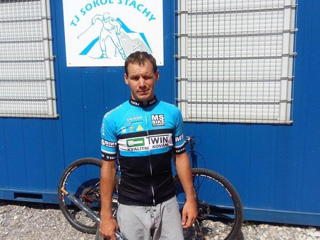 ZVÍTĚZIL. Jan Beneš se stal vítězem pátého kola Šumavského poháru.