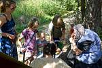 Pohádkový les si v sobotu 12. září přišla užít asi stovka dětí.