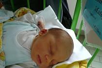 Velkou radostí pro rodiče Václava Kollmanna a Vandu Hronkovou  z Českých Budějovic je narození syna Matěje. Na svět přišel v pátek 11.6. 2010 v 8.13 h. Váží 4,10 kg