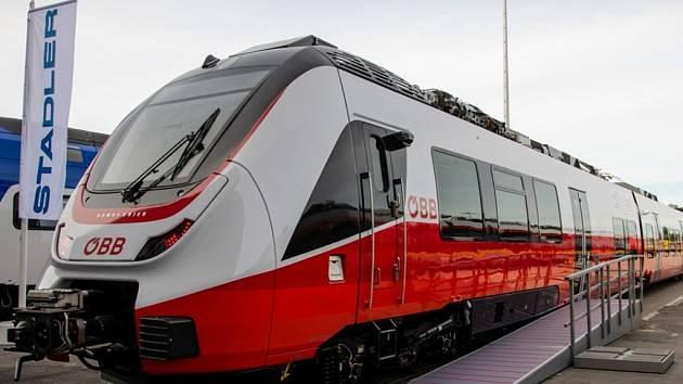 Rakouské dráhy nasadí moderní jednotky Talent 3 i na trase z Lince do Českých Budějovic.